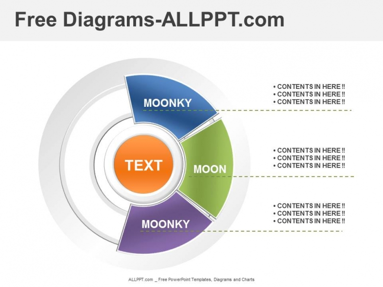 3 Analysis    Diagrams    PowerPoint Template     Download    Free