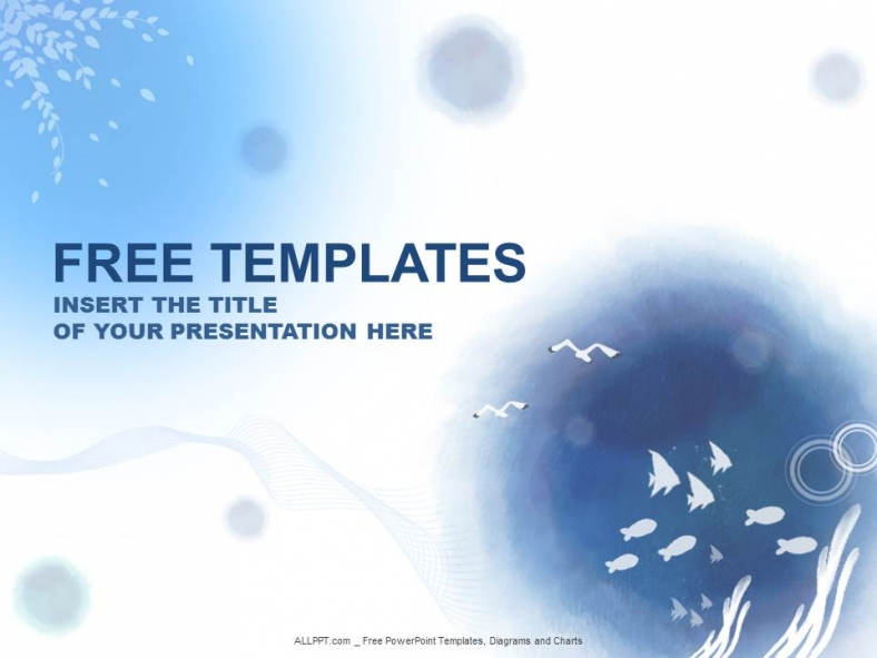 Ocean water powerpoint templates design download free daily ocean water powerpoint templates design toneelgroepblik Image collections