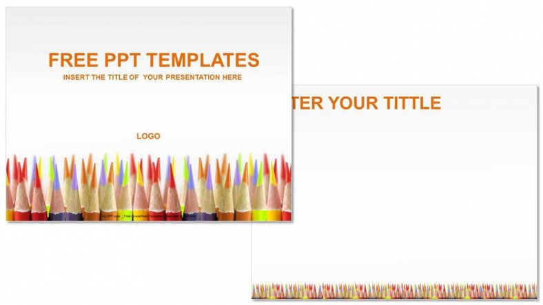 Colored pencils education powerpoint templates download free colored pencils education powerpoint templates 3 toneelgroepblik Images