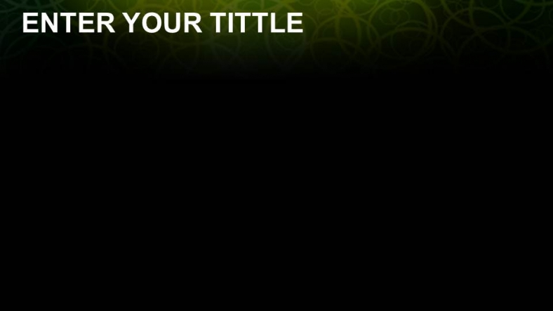 free black abstract green powerpoint templates download free