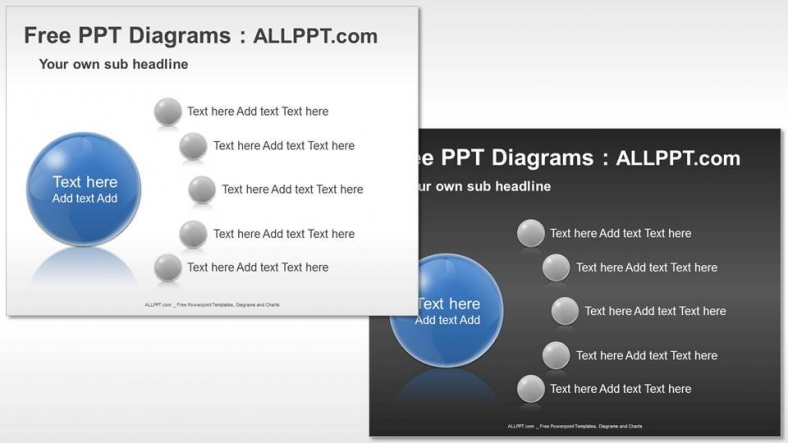 Free Five Agenda PPT Diagrams + Download Free + Daily Updates +