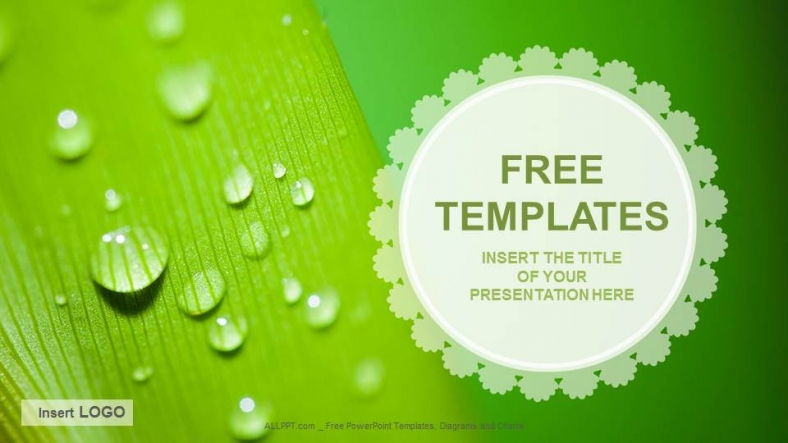 Droplets nature ppt templates download free droplets nature ppt templates toneelgroepblik Image collections