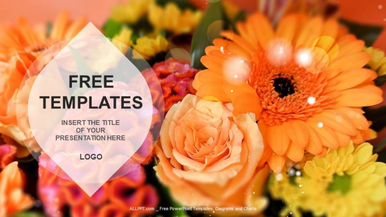 Flowers nature ppt templates download free flowers nature ppt templates toneelgroepblik Choice Image