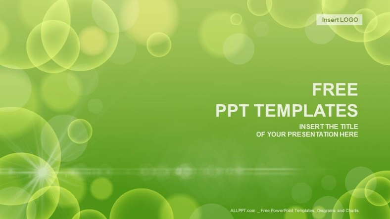 Free simple powerpoint templates design green circle abstract powerpoint templates toneelgroepblik Images
