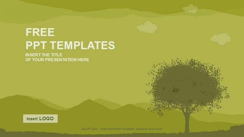 Silhouette tree nature ppt templates download free silhouette tree nature ppt templates toneelgroepblik Image collections
