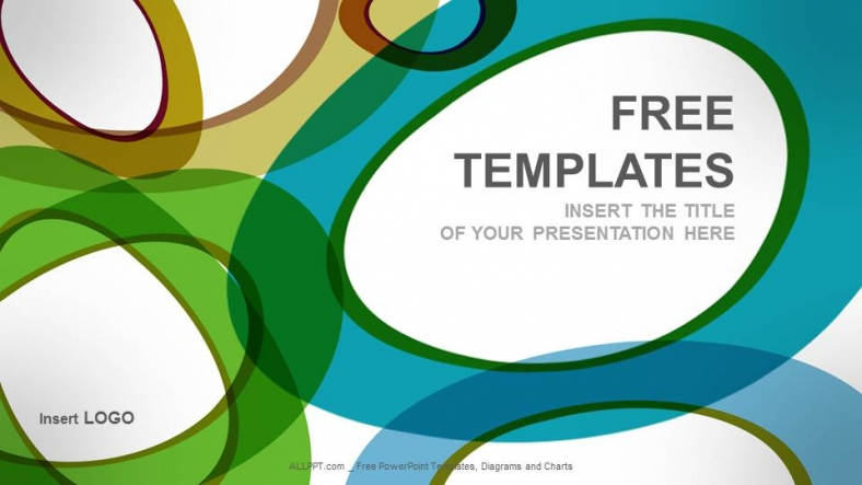 Free abstract powerpoint templates design bubbles abstract powerpoint templates toneelgroepblik Gallery