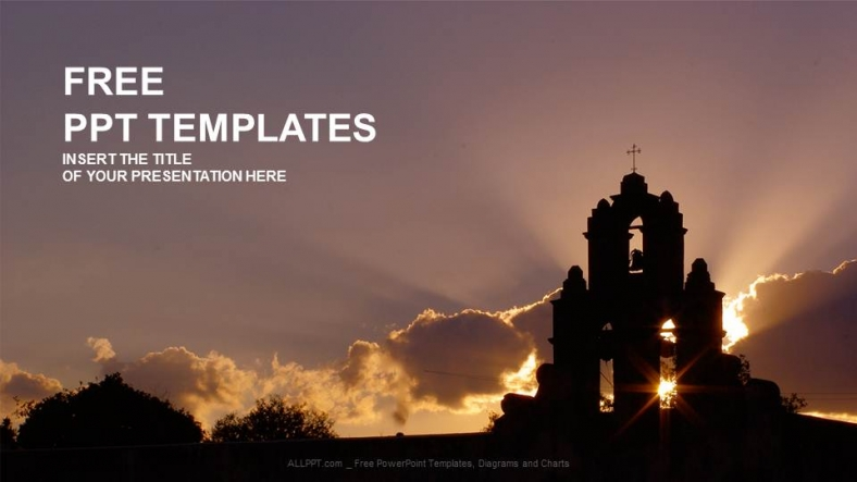 church religion ppt templates 1