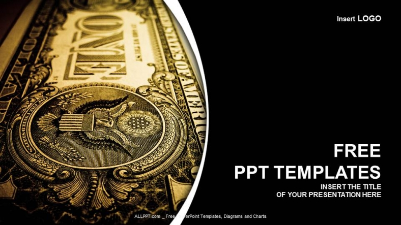 one dollar bill finance ppt templates