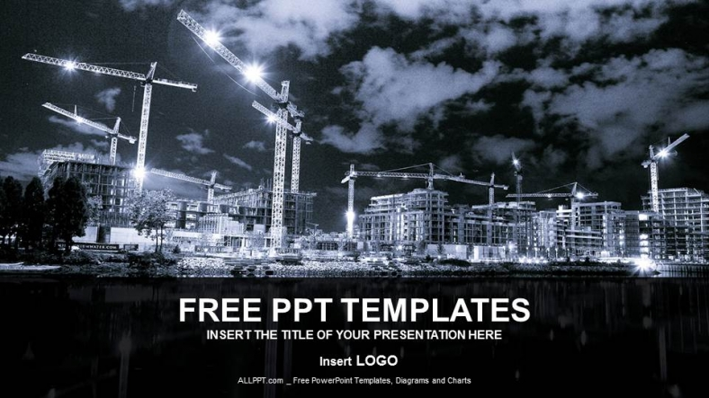 building in process industry ppt templates
