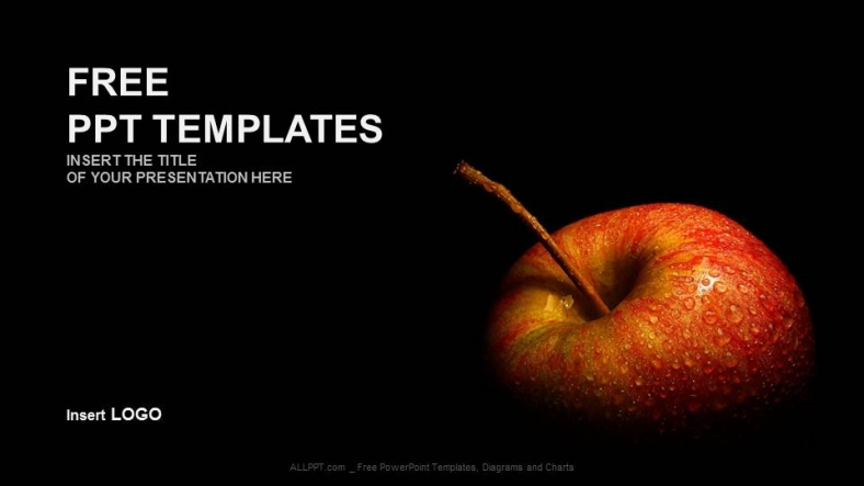 Flesh apple food ppt templates flesh apple food ppt templates 1 toneelgroepblik Images
