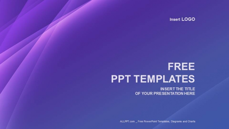 Free modern powerpoint templates design purple line abstract ppt templates toneelgroepblik Images