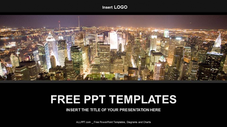 Free industry powerpoint templates design big city business powerpoint templates toneelgroepblik Images