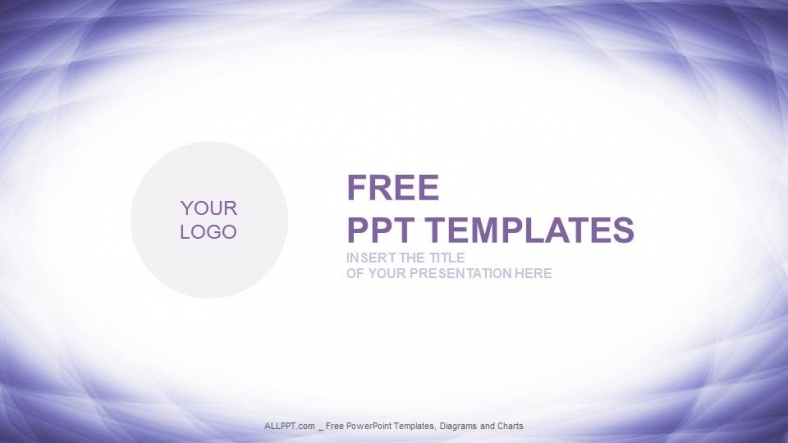 Free abstract powerpoint templates design logotype wave abstract powerpoint templates toneelgroepblik Image collections