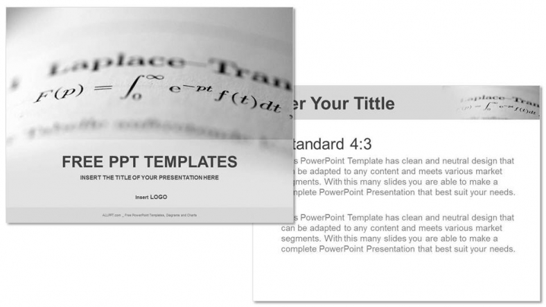 Long math education powerpoint templates long math education powerpoint templates 3 toneelgroepblik Images