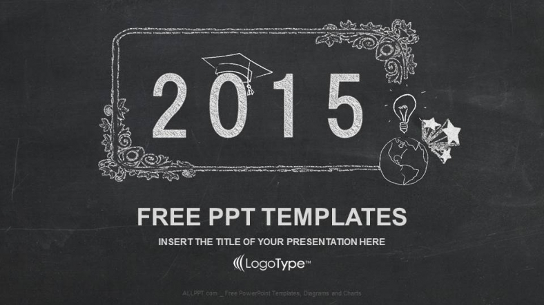 Happy new year 2015 in blackboard ppt templates happy new year 2015 in blackboard ppt templates toneelgroepblik Images