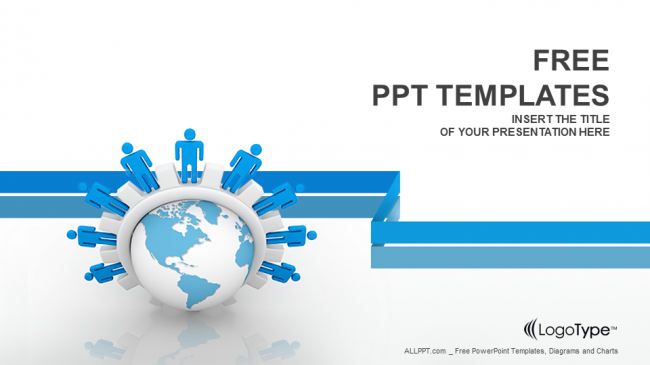 business network powerpoint templates