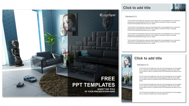 Modern interior real estate ppt templates modern interior real estate ppt templates 4 toneelgroepblik Gallery