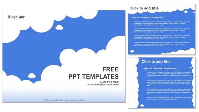 White clouds with blue abstract powerpoint templates white clouds with blue abstract powerpoint templates 4 toneelgroepblik Choice Image