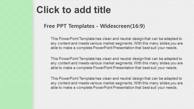 white paper simple powerpoint templates