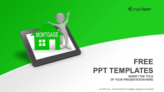 Mortgage house tablet powerpoint templates mortgage house tablet powerpoint templates 1 toneelgroepblik Gallery