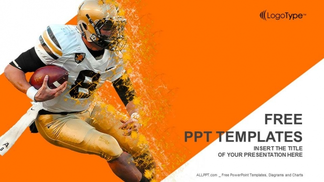 american football game powerpoint templates
