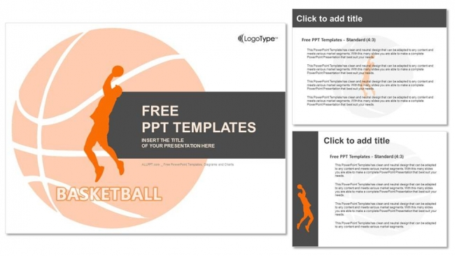 Red basketball player powerpoint templates red basketball player powerpoint templates 4 toneelgroepblik Gallery