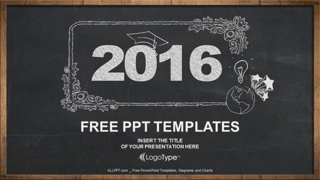 2016 concept on blackboard powerpoint templates 2016 concept on blackboard powerpoint templates 1 toneelgroepblik Gallery