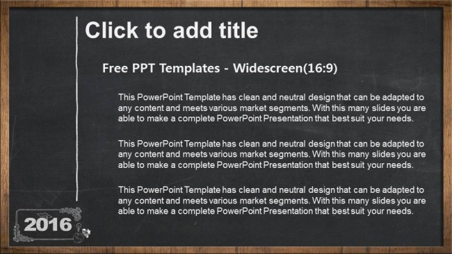 2016 concept on blackboard powerpoint templates 2016 concept on blackboard powerpoint templates 3 toneelgroepblik