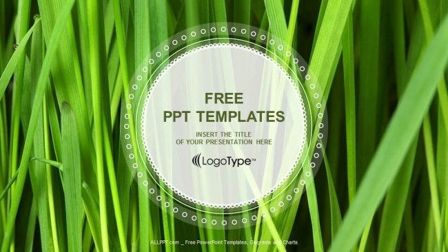 Free cool powerpoint templates design fresh green grass powerpoint templates toneelgroepblik Image collections