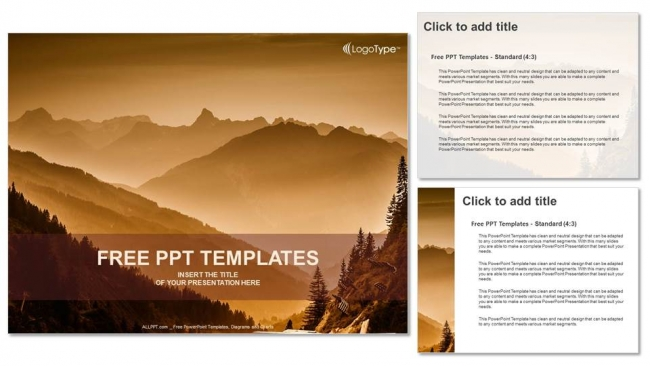 Layers of mountains powerpoint templates layers of mountains powerpoint templates 4 toneelgroepblik Gallery