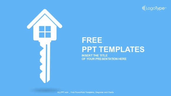 real estate key powerpoint templates