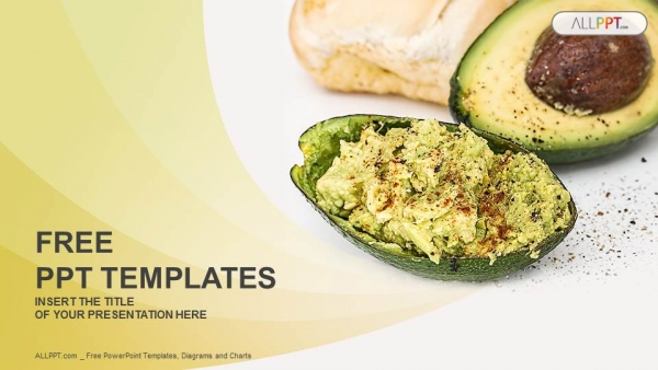 Halved avocados powerpoint templates halved avocados powerpoint templates 1 forumfinder Images