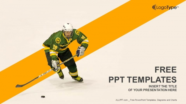 Ice hockey player powerpoint templates ice hockey player powerpoint templates 1 toneelgroepblik Image collections