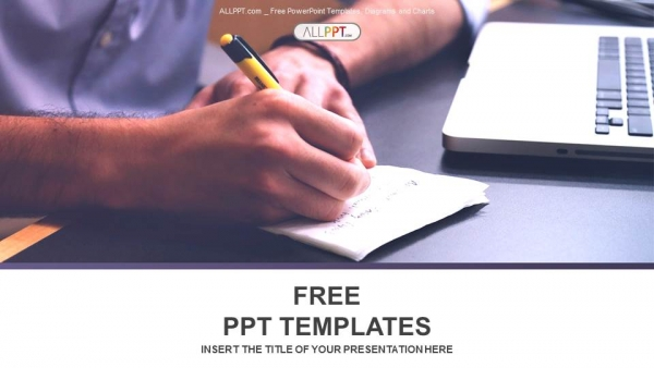 Free business powerpoint templates design makes a note at business document powerpoint templates cheaphphosting Images