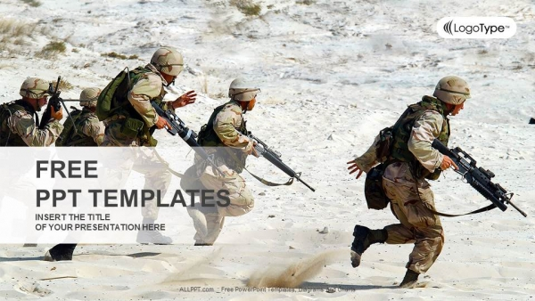 Free powerpoint templates military weapon ppt ppt templates toneelgroepblik Image collections