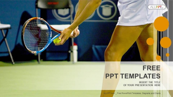Young female tennis player sports powerpoint templates young female tennis player sports powerpoint templates 1 toneelgroepblik Images