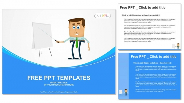 businessman presentation powerpoint templates