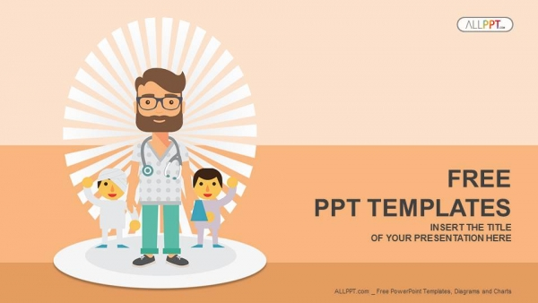 doctor and patients powerpoint templates 1