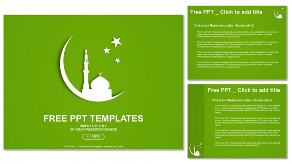 White silhouette of mosque on moon powerpoint templates white silhouette of mosque on moon powerpoint templates 4 toneelgroepblik Images