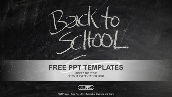 back to school powerpoint templates