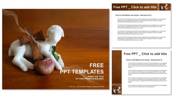 Easter decoration PowerPoint Templates (4)
