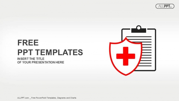 Free medical powerpoint templates design flat medical icon medical history on a white background powerpoint templates toneelgroepblik Images