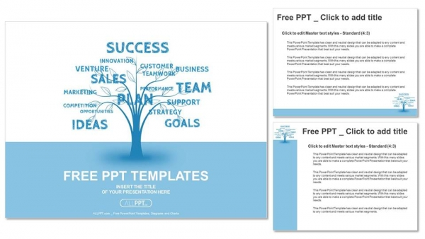 Concept blue word tree leadership marketing or business powerpoint concept blue word tree leadership marketing or business powerpoint templates 4 flashek Choice Image