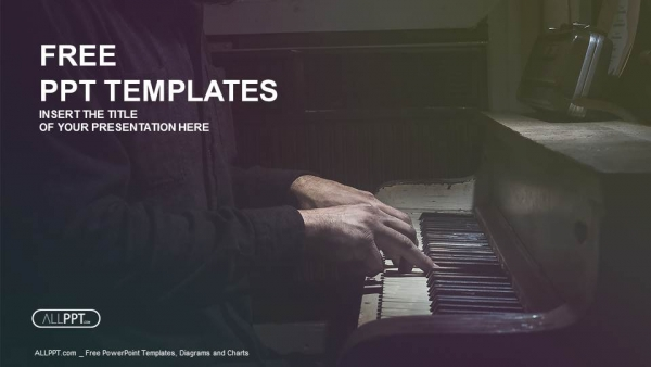 Pianist musician piano music playing powerpoint templates pianist musician piano music playing powerpoint templates 1 toneelgroepblik Gallery