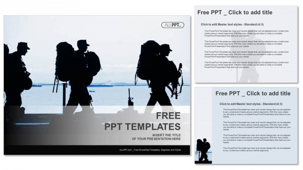 Silhouette of military soldier with weapons powerpoint templates silhouette of military soldier with weapons powerpoint templates 4 toneelgroepblik