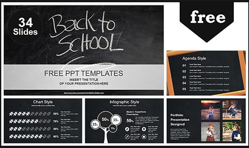 Free education powerpoint templates design back to school powerpoint template list toneelgroepblik Image collections