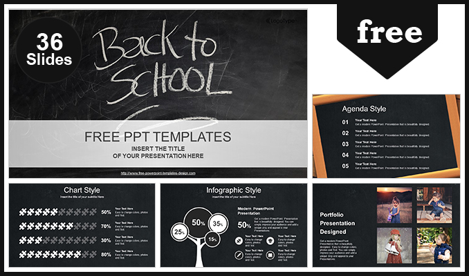 back to school powerpoint template, Free School Powerpoint Templates, Powerpoint templates