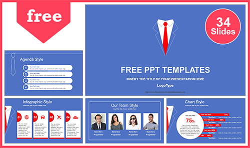 Free best business powerpoint templates with professional 55slides flashek Gallery