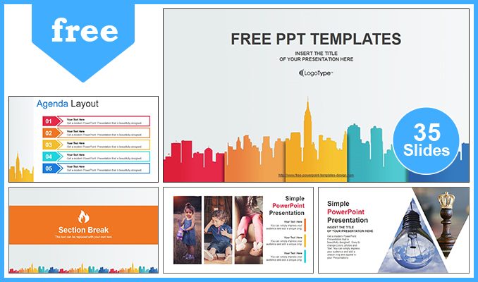 City buildings business powerpoint template city buildings business powerpoint templates post toneelgroepblik Choice Image