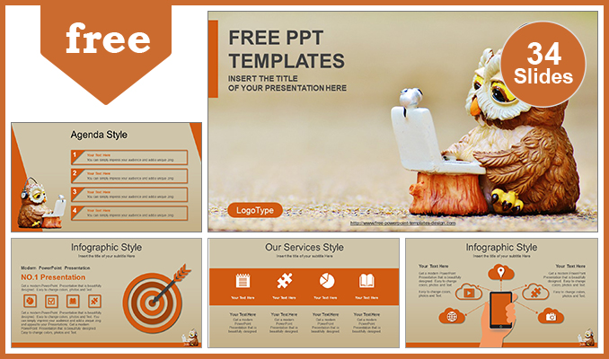 Computer education concept powerpoint template computer education concept powerpoint template post toneelgroepblik Images